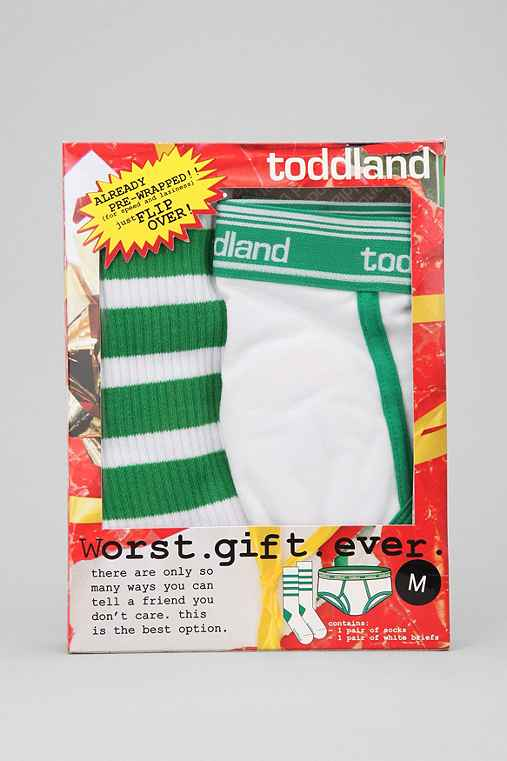 toddland Worst Gift Ever Underwear and Sock Gift Set