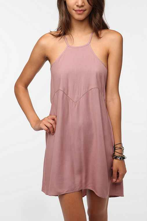 Ecote Soft Woven Janis Halter Dress