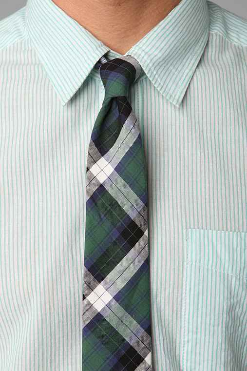 Flannel Plaid Tie