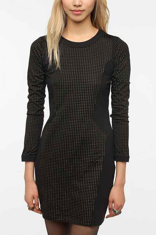 Silence & Noise Ponte Knit Robot Dress