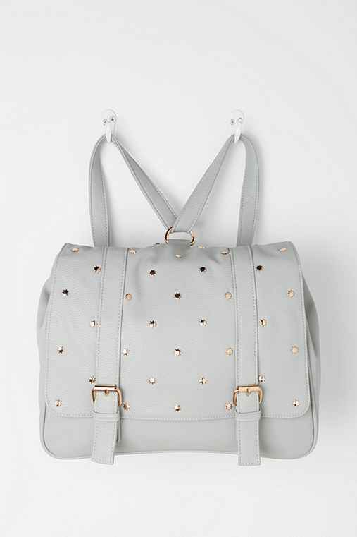 Deux Lux Star-Stud Square Backpack