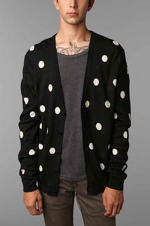 The Narrows Polka Dot Cardigan