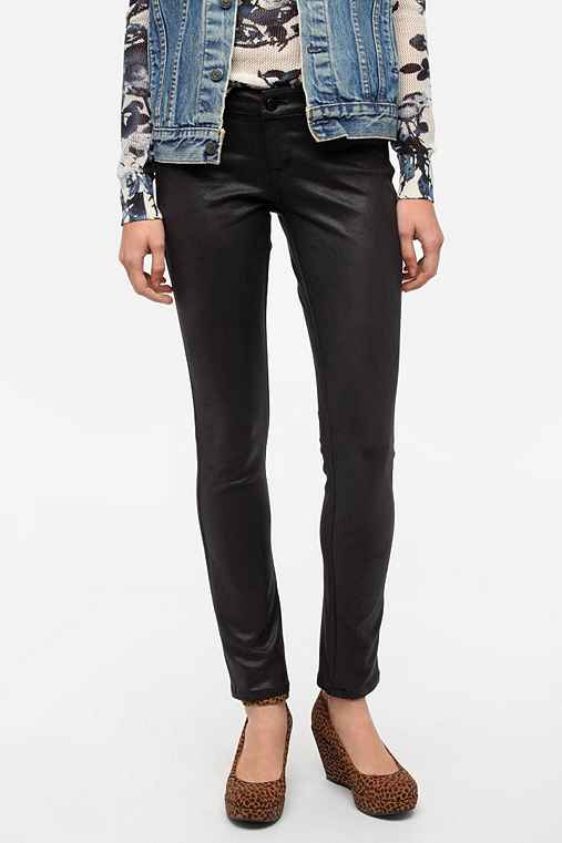 SOLD Design Lab Faux Suede Skinny Pant
