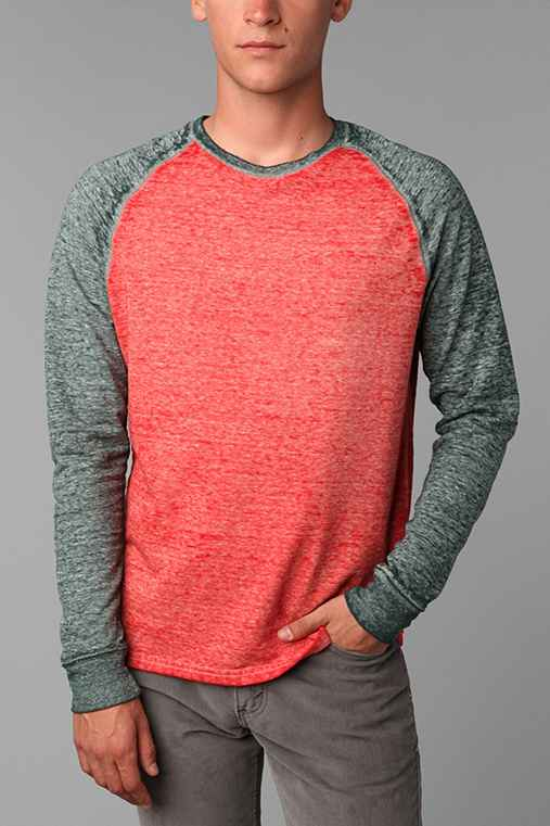 Threads 4 Thought Burnout Colorblock Sweatshirt