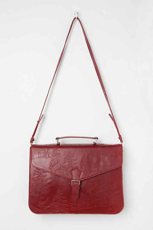 BDG Etched Landscape Satchel Bag