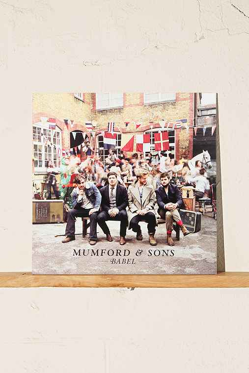 Mumford & Sons - Babel LP,ASSORTED,ONE SIZE