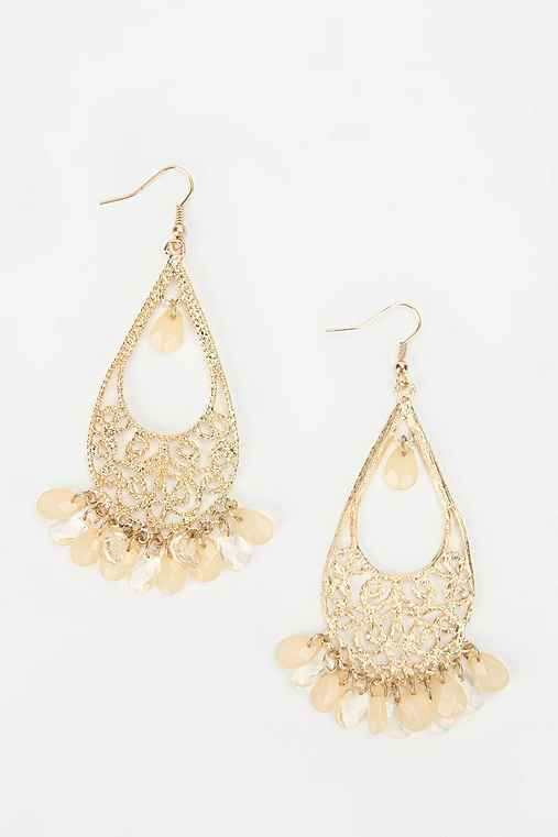 Crystal Chime Drop Earring