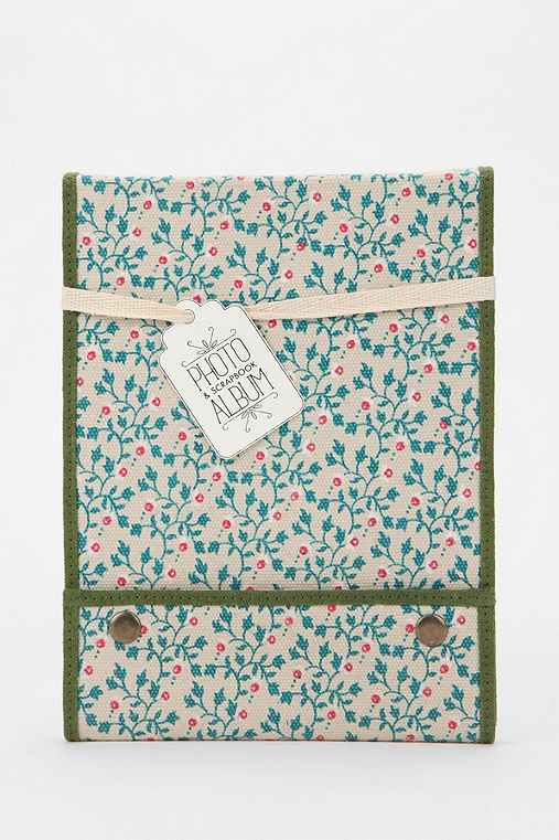 Ditsy Floral Snap-Flap Photo Album