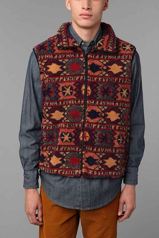 Brooklyn Cloth Mountain Man Sherpa Vest