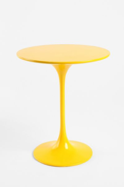 Hourglass Lacquer Side Table