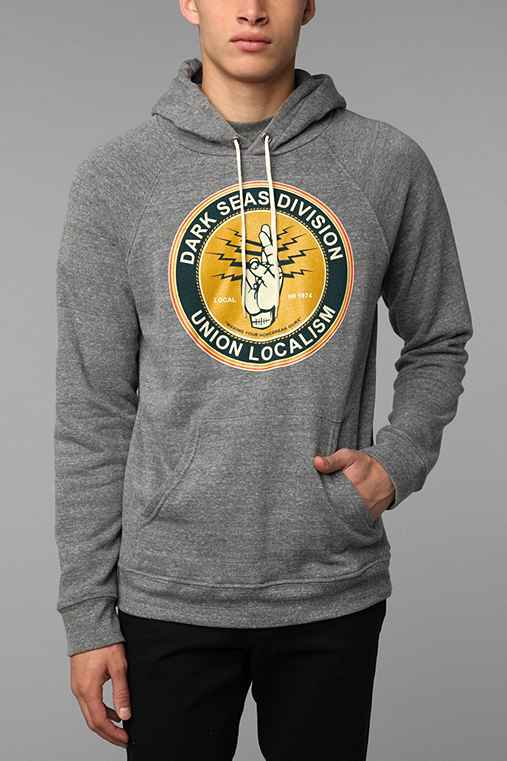 Dark Seas Local 74 Pullover Hoodie Sweatshirt