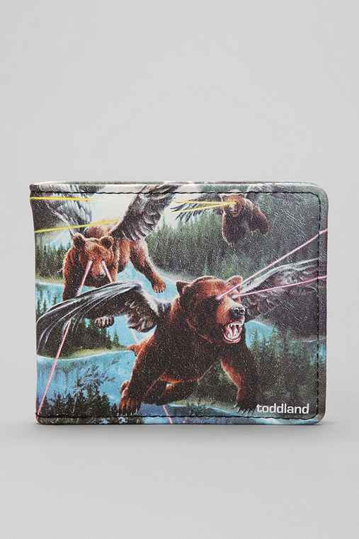 toddland Lazer Bears Wallet
