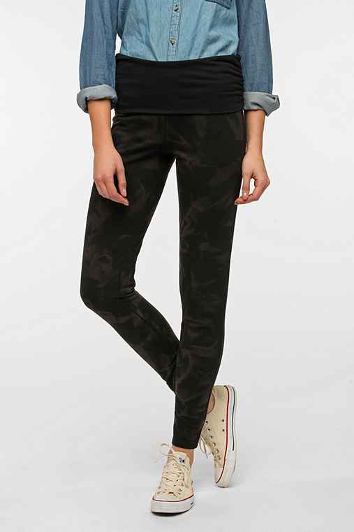 BDG Fold-Over Flood High-Rise Lounge Pant