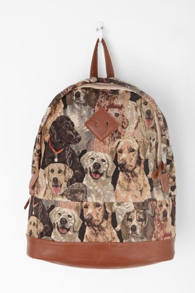 Kimchi Blue Canine Collage Backpack