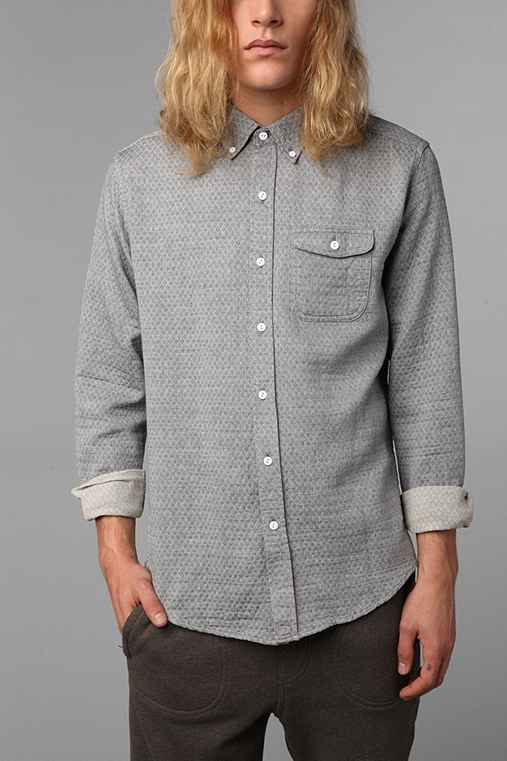 The Narrows Quilted Chambray Shirt