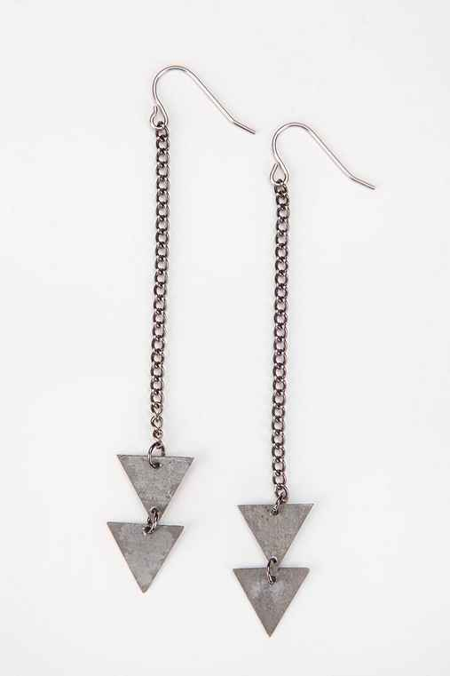 (of)Matter Jewelry for Urban Renewal Double Arrow Earring