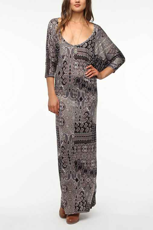 Staring at Stars Batwing Maxi Dress