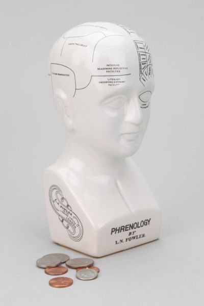 Phrenology Head Bank