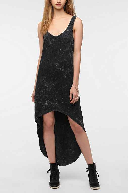 byCORPUS Dye Effect High/Low Dress