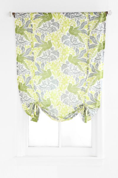 Soaring Bird Draped Shade Curtain