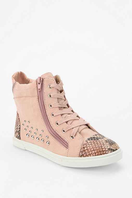 Wanted Snake Stud High-Top Sneaker