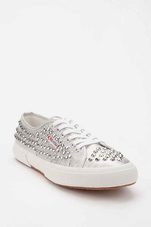Superga Glitter Stud Low-Top Sneaker