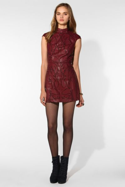 Shakuhachi X UO Baroque Eyelet Dress