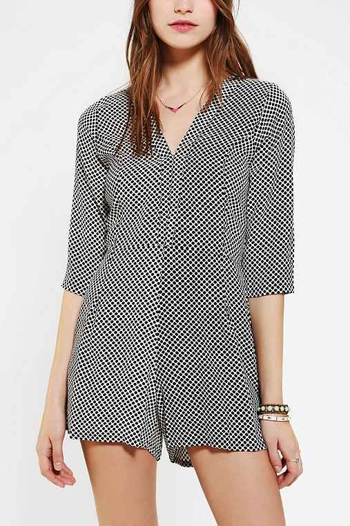 Motel Judy Long-Sleeve Romper