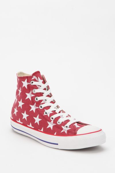 Converse Chuck Taylor All Star Star Print High-Top Sneaker