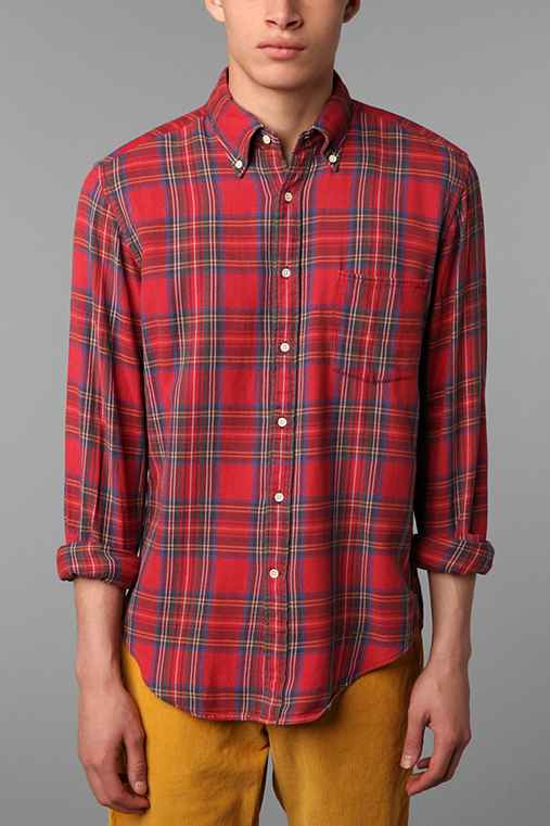 GANT Rugger Tinkering Twill Plaid EZ Shirt