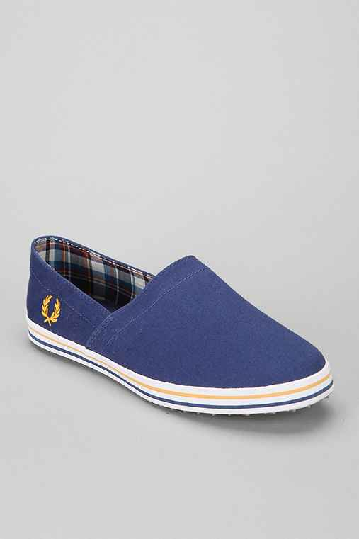 Fred Perry Kingston Slip-On Shoe