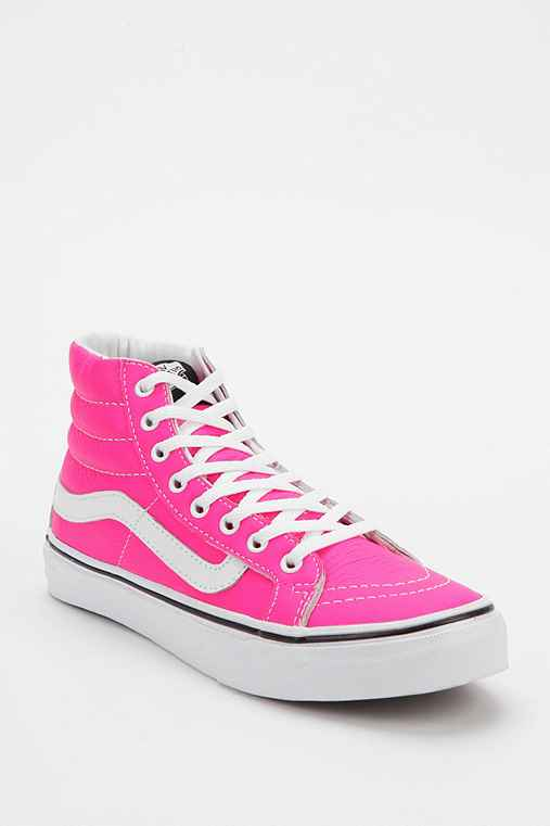 Vans Sk8-Hi Slim Leather Women's High-Top Sneaker