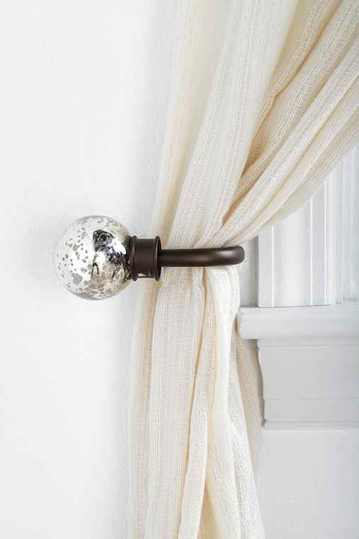 Mercury Glass Curtain Tie-Back
