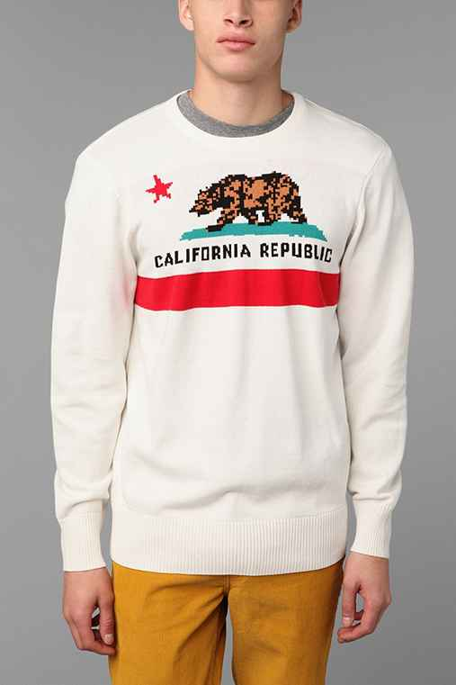 Ripple Cali Flag Sweater