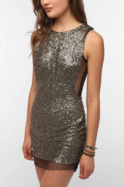 Lovers & Friends Lucky Bodycon Sequin Dress