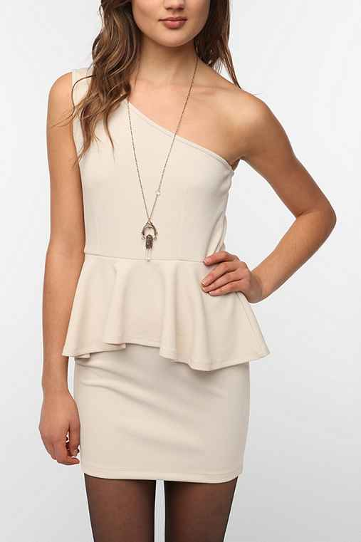 Lovers & Friends Love Knocks One Shoulder Dress