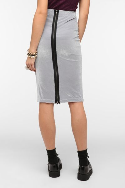 Urban Renewal Velvet Pencil Skirt