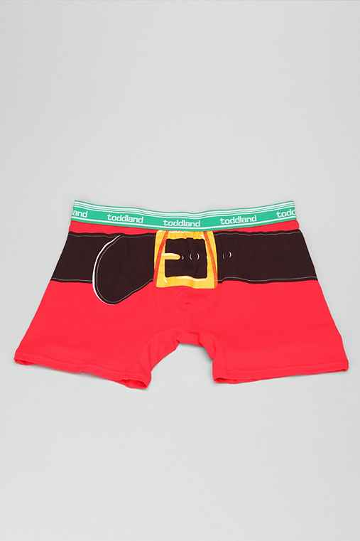 toddland Santa Pants Boxer Brief