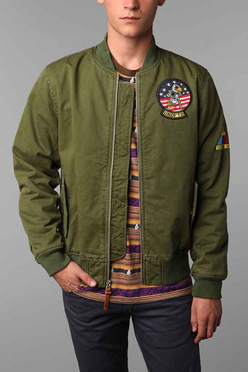 Undefeated Tomcat Bomber Jacket