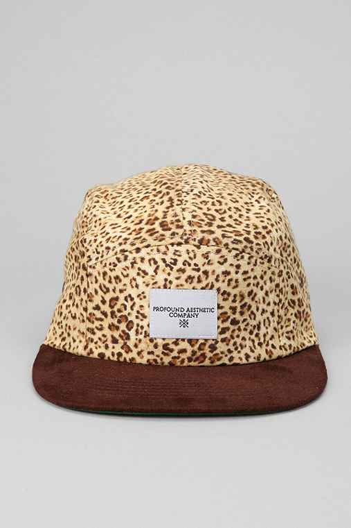 Profound Aesthetic Desert Cheetah 5-Panel Hat