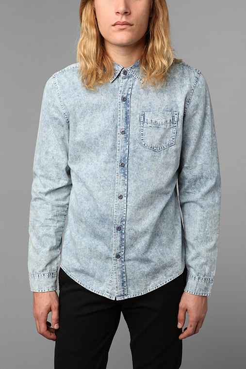Charles & 1/2 Acid-Wash Shirt