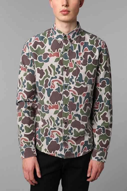 Charles & 1/2 Duck Camo Oxford Shirt