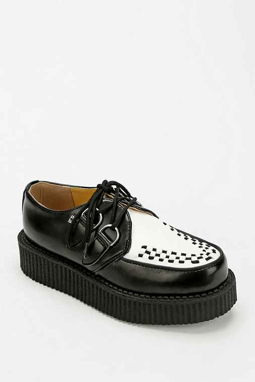 T.U.K. Low Sole Leather Creeper