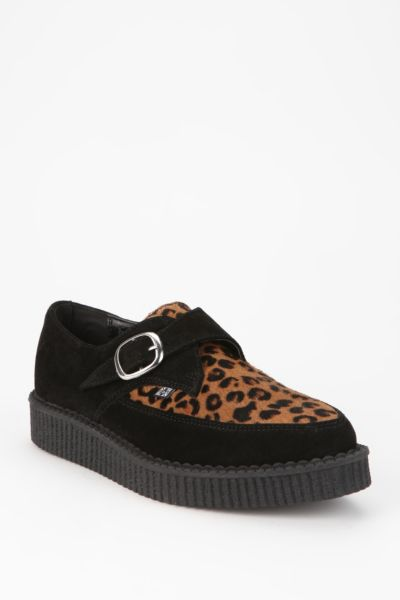 T.U.K. Pointy-Toe Leopard Creeper
