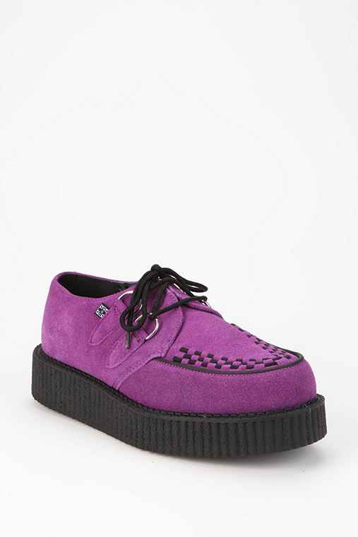 T.U.K. Low Sole Suede Creeper