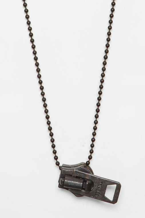 Love Smith x Urban Renewal Military Zipper Necklace
