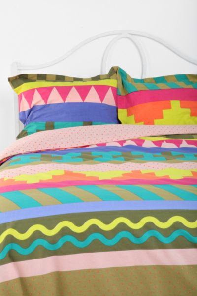 Beci Orpin Geo-Stripe Pillow Sham