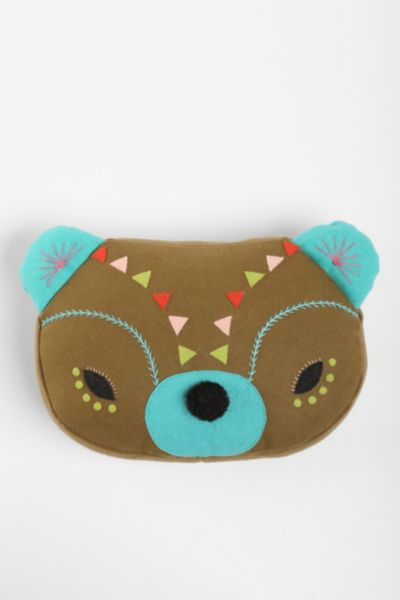Beci Orpin Bear Pillow