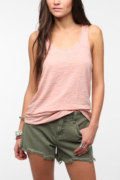 BDG Burnout Racerback Tank Top