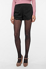 Pins and Needles Lace-Trim Short